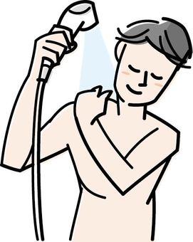 改變洗澡的順序  改善背痘問題的方法